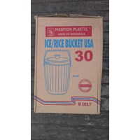 Termos Nasi dan Es Rice bucket plastik 30 liter USA kode BI 017 maspion