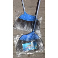 Sapu ijuk dan sapu nilon plastik cap Dragon broom