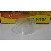 Distributor round plastic mica jar for pastry when idul fitri 3