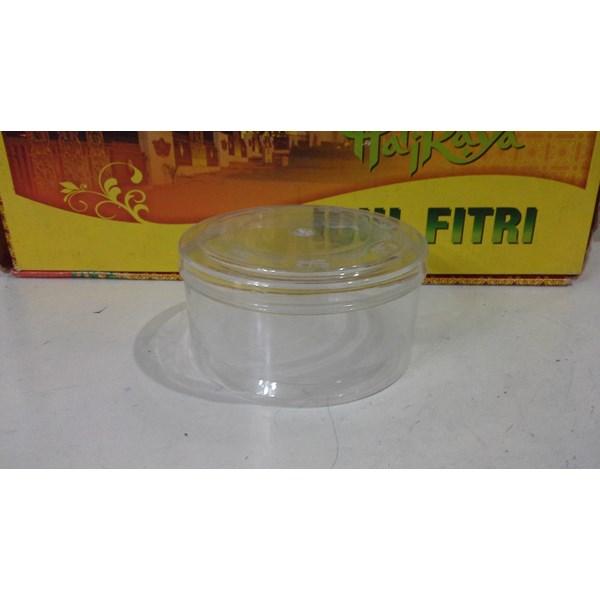 produk plastik rumah tangga toples mika plastik bulat untuk kue kering saat idul fitri