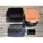 Box plastik xavier container  office 40 liter hitam coklat SX 104 merk multi 3