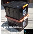 Box plastik xavier container  office 40 liter hitam coklat SX 104 merk multi 2