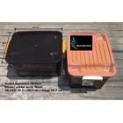 Box plastik xavier container  office 40 liter hitam coklat SX 104 merk multi 5