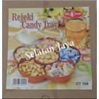 Candy tray CT 168 merk OWL plast atau Toples plastik 1