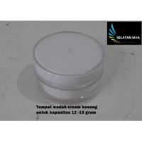Jual produk plastik lainnya Tempat wadah plastik cream kosong untuk kosmetik kecantikan wajah 2