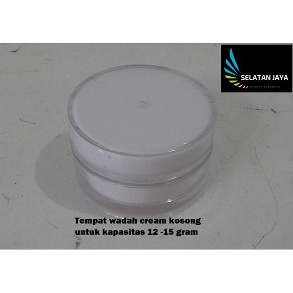 produk plastik lainnya Tempat wadah plastik cream kosong untuk kosmetik kecantikan wajah