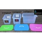 produk plastik rumah tangga box plastik kode 1310 1311 dan 1312  Gajah tutup pink biru hijau 2