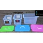 produk plastik rumah tangga box plastik kode 1310 1311 dan 1312  Gajah tutup pink biru hijau 4