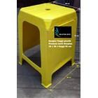 Kursi plastik bangku tinggi promosi Neoplas kuning hijau merah biru 3