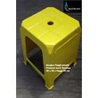 Kursi plastik bangku tinggi promosi Neoplas kuning hijau merah biru 1