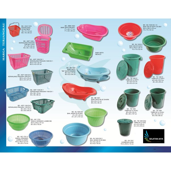 produk plastik rumah tangga katalog produk plastik rumah tangga merk Blueshark Indonesia