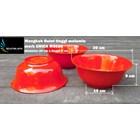 Mangkok Bulat plastik Melamin 8 inch Unica kode M9708 merah 3