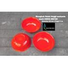 Mangkok Bulat plastik Melamin 8 inch Unica kode M9708 merah 1