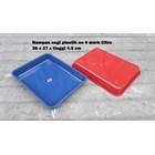 Produk Plastik Rumah Tangga Nampan Segi Plastik No 4 merk Citra warna biru dan merah 4