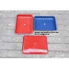 Produk Plastik Rumah Tangga Nampan Segi Plastik No 4 merk Citra warna biru dan merah 1