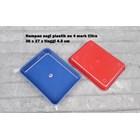 Produk Plastik Rumah Tangga Nampan Segi Plastik No 4 merk Citra warna biru dan merah 5