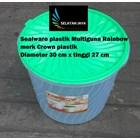 Produk Plastik Rumah Tangga Sealware plastik 16 liter atau toples plastik serbaguna Rainbow merk Crown 2