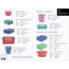 Produk Plastik Rumah Tangga Katalog produk basket plastik merk TMS 1