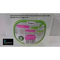 Jual Toples plastik sealware 5 liter CORONA merk Taiwan kode TA 005 2