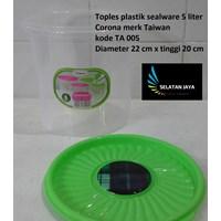 Beli Toples plastik sealware 5 liter CORONA merk Taiwan kode TA 005 4