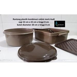Produk Plastik Rumah Tangga Rantang plastik untuk selamatanwarna coklat merk Audi