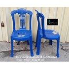 Kursi plastik Lotus kode K2 warna biru merk Neoplast 2