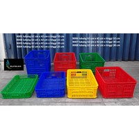Distributor Keranjang Plastik industri krat plastik lubang merk TOP 3