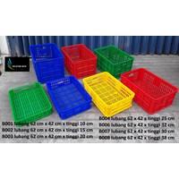 Jual Keranjang Plastik industri krat plastik lubang merk TOP 2