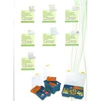 Produk Plastik Rumah Tangga storage box atau kotak perkakas reiko plastik merk greenleaf