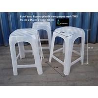Kursi Plastik espana baso plastik bening transparan merk TMS