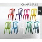 White plastic dining chair Taiwan brand 1