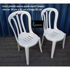 White plastic dining chair Taiwan brand 4