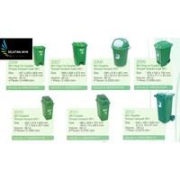 Produk Plastik Rumah Tangga Tempat sampah plastik merk greenleaf.