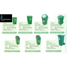 plastic garbage bin greenleaf