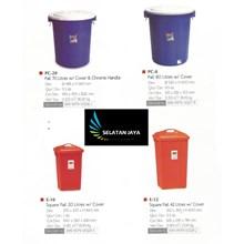 Ember Plastik Tong pail plastik merk Lion Star
