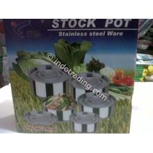 Stock Pot Set Stainless Steel Ware