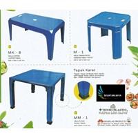 Meja Makan plastik besar merk Neoplast