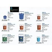 Rantang Tempat nasi Es plastik atau Rice bucket merk Global Eagle.