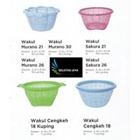 Produk Plastik Rumah Tangga wakul plastik murano sakura merk Diansari