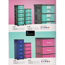 Plastic cabinets and cabinet drawers gasaki brands