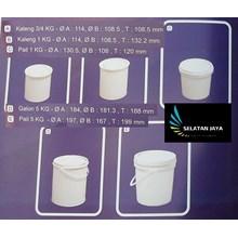 Pail plastik kosong wadah cat cairan kimia non kor