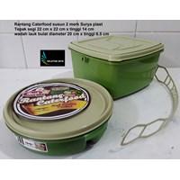 Distributor  plastic stacking caterfood 2 brands Surya plast 3