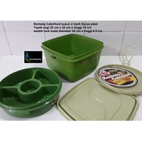 Sell  plastic stacking caterfood 2 brands Surya plast 2