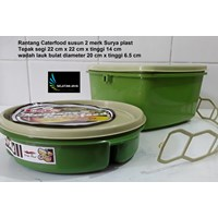 plastic stacking caterfood 2 brands Surya plast Cheap 5