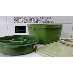 plastic stacking caterfood 2 brands Surya plast