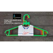 plastic hanger sendy brand with multi color