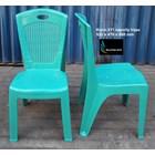 Kursi plastik Napoli kode 211 warna hijau 2