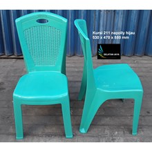 Napoli plastic chair code 211 green