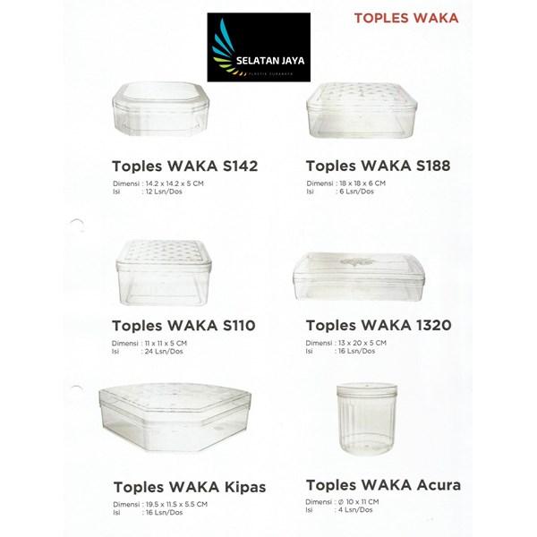 Toples plastik waka s142 s188 s110 1320  merk waka