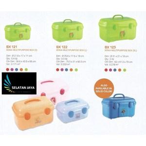 Xenia box plastik multipurpose merk Multiplast